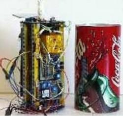 음료수 캔과 유사한 크기인 캔위성 - 미래창조과학부 제공